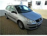VW POLO 1.4i WITH FSH AT AGENTS SILVER CLEAN CAR 2009 MODEL