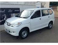 2008 Toyota Avanza 1.3 Panel Van VVTi - 5 Available !!!