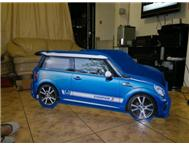 New mini cooper baby cot beds