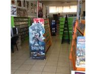 Game shop for sale