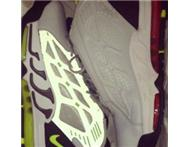 NIKE AIR PILLAR UK 7.5 FOR SALE GREY/VOLT!!