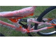 Brand-new suspension mountain bikes for sale