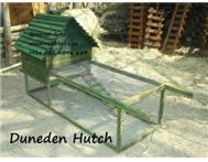 DUNEDEN Rabbit hutch movable and...