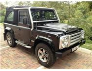 2009 LAND ROVER DEFENDER 90 PUMA 60TH SOFTTOP