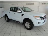 2013 FORD RANGER 3.2 TDCI 4X4 DOUBLE CAB MANUAL