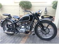 BMW R38 1938 model CJ750 2006 model Johannesburg
