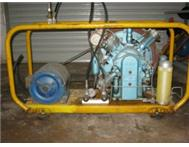 Scuba dive compressor 3 Phase
