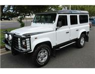 2013 LAND ROVER DEFENDER 110 CSW LIMITED