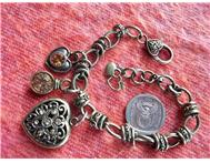 Beautiful Antique-look Charm Bracelets