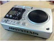 2 X JB Systems MCD 200 CD Players with Scratch Control for sale
