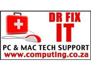 PC & MAC IT Tech Support - Randburg Fourways Bryanston