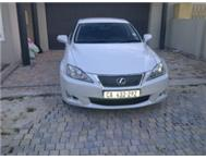 LEXUS IS250 - 2010 - PEARL WHITE