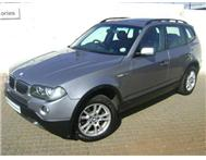 2007 BMW X3 2.0D EXCLUSIVE MANUAL