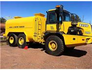 2005 BELL B20D 6X6 18 000 LITRE WATER CART.