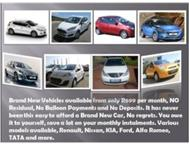 Any Colour Any of our available cars! R699 PER MONTH