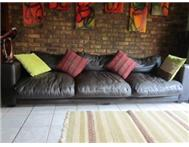 Leather Couches Set 3-seater and 2-... Centurion