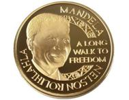Nelson Mandela Long Walk To Freedom medallion for only R40