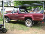 Toyota hilux 4x2 with upgraded v6