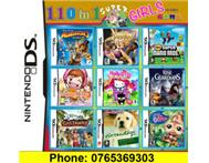 110 in 1 Nintendo DS/3DS Multi Game Card for GIRLS