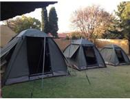 Ripstop canvas tents from R3095