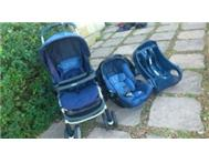 Graco Mirage Plus pram carseat and carseat base