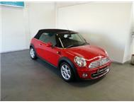 2011 Mini Cooper Convertible 6spd