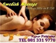 Swedish Massage Stress Relief