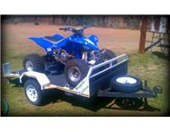 YFZ 450 Yamaha 2008 model with trailer