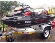 2011 Sea-Doo RXT-X aS 260 - Good as new only 40 hours - fully rigid for fishing