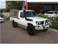 2005 TOYOTA LANDCRUISER 4.5 EFI Single Cab