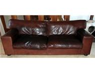 Kudu Leather Couch - Large