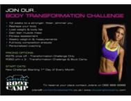 JOIN OUR 12 WEEK BODY TRANSFORMATION CHALLENGE