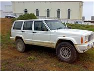 Jeep Cherokee XJ - Box Shape model - white