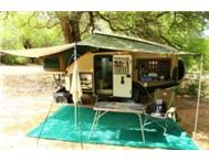 Echo Kavango 4 x 4 offroad Caravan Upgraded as new