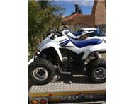 2 x 2006 SUZUKI QUAD BIKES (250 & 400) AND TRAILER WITH RAMPS