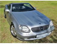 2001 SLK 200 Kompressor - STUNNING CONDITION -