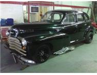 1946 Chev Fleetmaster 308 Holden V8 (Incomplete Project)