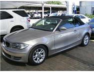 2008 BMW 1 SERIES 120 CABROLET