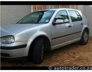 2000 VOLKSWAGEN GOLF 1.6 CL 5dr