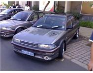 twincam rsi(baby cam) and 91 corolla gls braking for part s