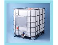 1000 l Litre Water / Chemical Tanks In Steel Cage- R450. 1000 lt liter Flow bin/ Tenk/ IBC