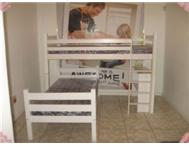 L-Shape Bunk Bed and Steel Available