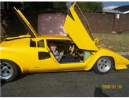 2009 Lamborghini Countach Replica For Sale in Cars for Sale Gauteng City Deep - South Africa