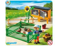 Playmobil 5123 Rabbit Hutch