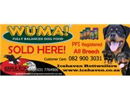 Wuma Dog Food for Sale