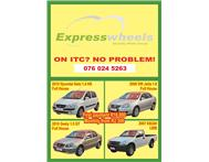Need a car? ITC no problem!!!
