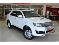 2011 Toyota Fortuner 3.0 D4D Manual