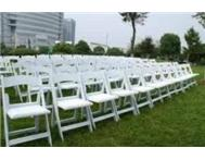 wimbledon and tiffany chairs and other decor available for hire