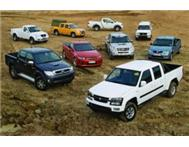 We have 1000 s of Double Cab Bakkies available. Request yours...