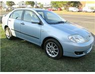 2006 TOYOTA COROLLA 1.8 GLS MANUAL